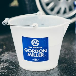 GORDON MILLER ラバーバケツ 8L ホワイト