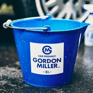 GORDON MILLER ラバーバケツ 8L ブルー