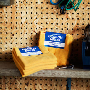 GORDON MILLER マイクロファイバークロス S 5枚 イエロー