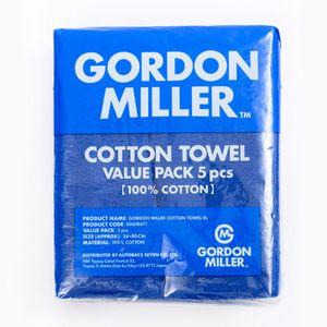 GORDON MILLER COTTON TOWEL 5PCS ブルー