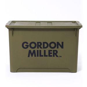 GORDON MILLER スタッキングストレージボックス LL オリーブドラブ