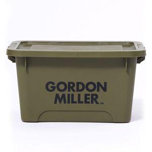 GORDON MILLER スタッキングストレージボックス M オリーブドラブ