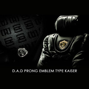 GARSON D.A.D プロング エンブレム タイプ カイザー シルバー/ジェットヘマタイト
