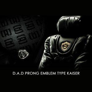 GARSON D.A.D プロング エンブレム タイプ カイザー ゴールド/ブラックダイヤ