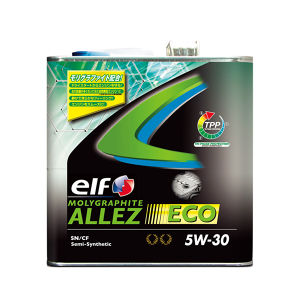 elf MOLYGRAPHITE ALLEZ ECO 5W-30 3L 部分合成油