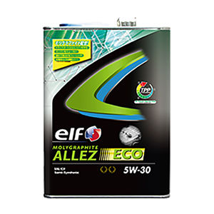 elf MOLYGRAPHITE ALLEZ ECO 5W-30 4L 部分合成油