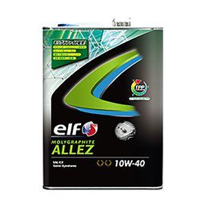 elf MOLYGRAPHITE ALLEZ 10W-40 4L 部分合成油