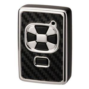 キーカバー トヨタA カーボン調ブラック DZ191