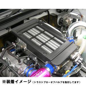 ブローオフバルブアダプター付き ビッグインタークーラー BLITZ 111533 スズキ ジムニー/JB23 4~10型