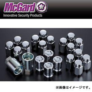 マックガード ナットインストレーションキット 袋タイプテーパー形状 クローム MCG84537 M12×1.5 20個セット ホンダ用