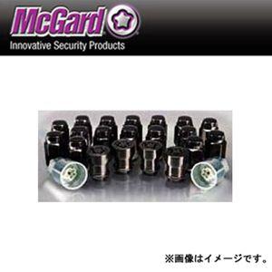 McGard ウルトラハイセキュリティ インストレーションキット 袋タイプテーパー形状 ブラック MCG84864BK M12×1.25 20個セット ニッサン・スバル・スズキ
