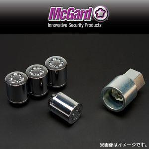 McGard 軽自動車用ロックナット 小径袋タイプテーパー形状 クローム MCG34365 M12×1.25 4個セット スズキ用