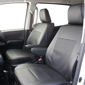 ノア/ヴォクシー(80系)専用 レザー&パンチングシートカバー PL-0310 ブラック