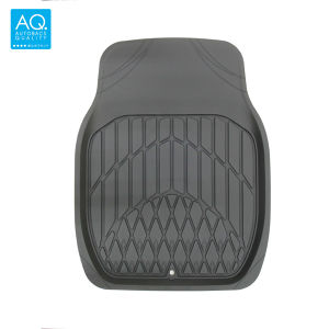 AQ お手入れ簡単3Dマット 軽自動車用カーマット ブラック フロント用