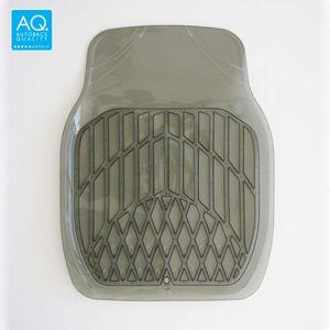 AQ お手入れ簡単3Dマット 軽自動車用カーマット スモーク フロント用
