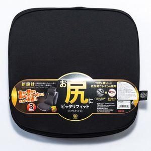 極 -KIWAMI- シングルクッション KI-3251 ブラック