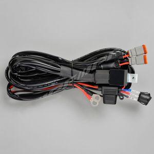 IPF スポーツワイヤリングDT-6 ハーネス スイッチ/リレー/ヒューズ/ハーネス ランプ2個用 WF-1DT