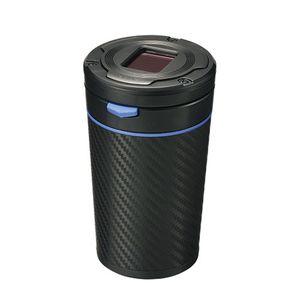 灰皿 Sports Luxury カーボン調 ブルー DZ355