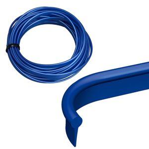 インテリアスリムモール メタルブルー K390