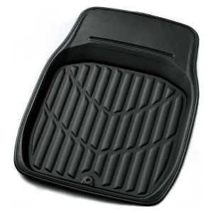 3Dレザーマット 軽自動車用カーマット 6416-31 ブラック フロント用