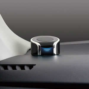 ツインセパレートクリアサウンドスピーカー USB2.4A付き TP-196