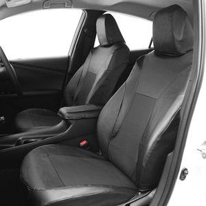 プリウス(50系)専用 レザー&パンチングシートカバー PL-0320 ブラック