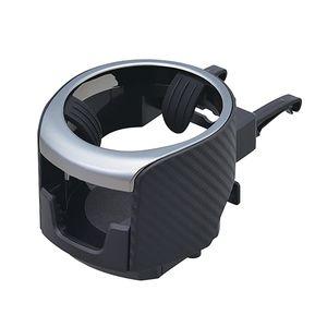 スマホエアコンドリンクホルダー メタルブラック W922