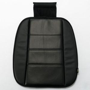 ソフトレザー 低反発シングルクッション ブラック/ブラック SF-1104