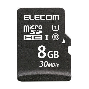 ELECOM データ復旧microSDHCカード 8GB MF-MS008GU11LRA