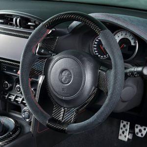 J-luth ZoneR エアーバックステアリングホイール カーボントップモデル アルカンターラ トヨタ 86/スバル BRZ