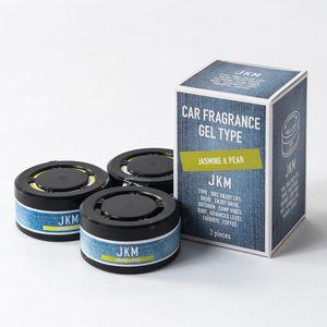 JKM ソリッド芳香剤3P ジャスミン&ペアー 3個パック