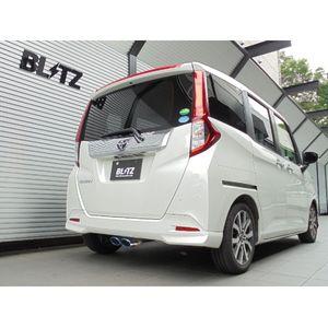 BLITZ ニュルスペック VSRマフラー 63539V トヨタ タンク/ルーミー スバル ジャスティ