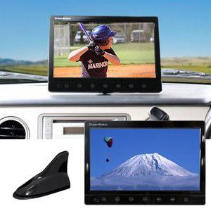 DreamMaker TV101B 10.1インチ液晶カーTVモニター シャークアンテナ仕様 フルセグ内蔵 ブラック