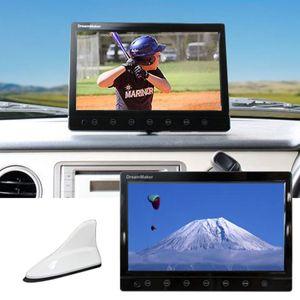 DreamMaker TV101B 10.1インチ液晶カーTVモニター シャークアンテナ仕様 フルセグ内蔵 ホワイト