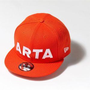 NEWERA 950 ARTA キャップ オレンジ×ホワイト 2018