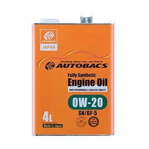 Autobacs エンジンオイル/0W20/SN/GF5/4L 全合成油