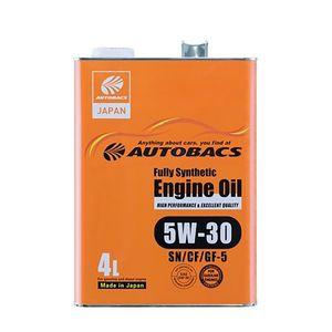 Autobacs エンジンオイル/5W30/SN/GF5/4L 全合成油