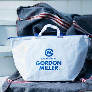 お一人様5点まで!GORDON MILLER ファスナー付フリートートバッグ L ホワイト