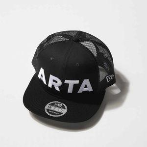 NEWERA 950 ARTA メッシュキャップ ブラック×ホワイト