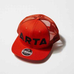 NEWERA 950 ARTA メッシュキャップ オレンジ×ブラック
