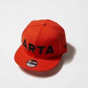 NEWERA 950 ARTA キッズキャップ オレンジ×ブラック