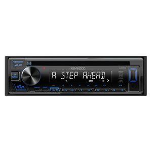 KENWOOD U340L CD/USB/iPodレシーバー MP3/WMA/WAV/FLAC対応 ブルー