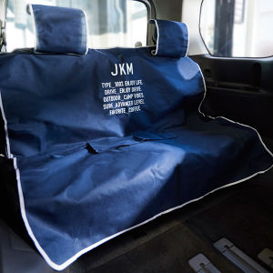 JKM 防水シートカバー ネイビー リア用 巾着袋付