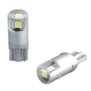 DELTA 高輝度LEDバルブ T10 ライセンスランプ用 D-2052 白色ナンバー用 2個入り
