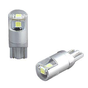 DELTA 高輝度LEDバルブ T10 ライセンスランプ用 D-2054 黄色ナンバー用 2個入り