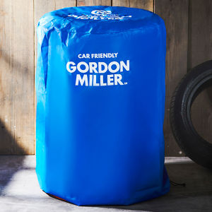 GORDON MILLER タイヤカバー M ブルー