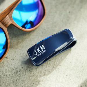 JKM サングラスクリップ JM47 ネイビー