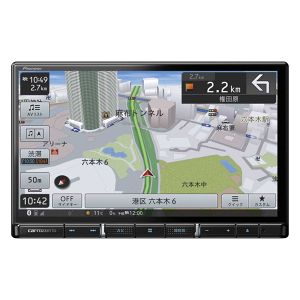 carrozzeria 楽ナビ AVIC-RL910 8型HD/TV/DVD/CD/Bluetooth/SD/チューナー・AV一体型メモリーナビゲーション