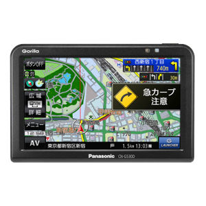 Panasonic Gorilla CN-G530D SSDポータブルカーナビゲーション
