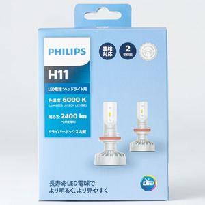 PHILIPS ヘッドライト用LED H11 11362